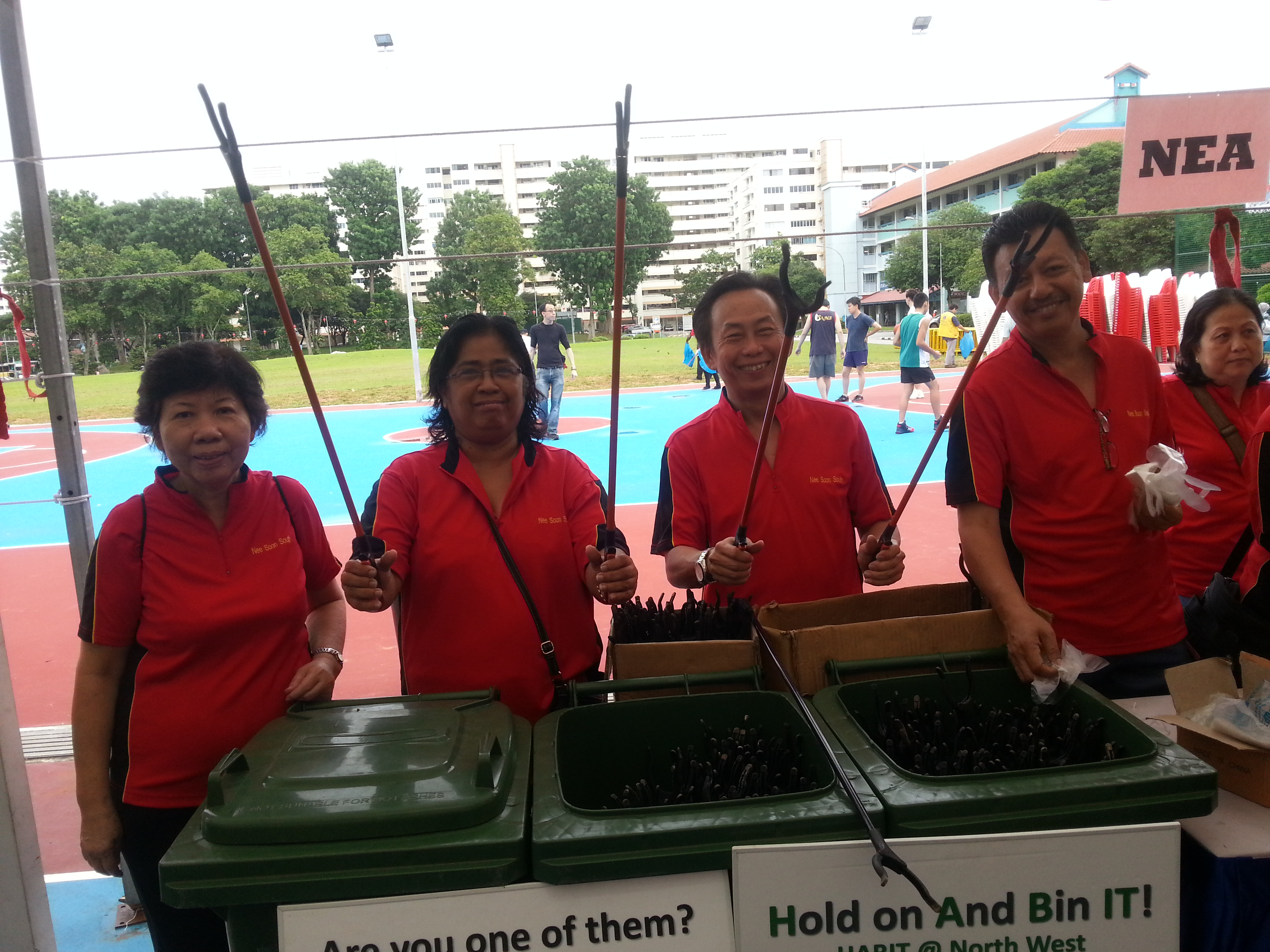 Litter Picking and Launch of DSPs @ Nee Soon South Zone D